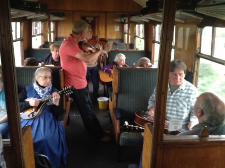 Session on the Wallingford steam train!